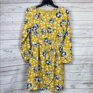NEW J CREW Floral Faux Wrap Dress